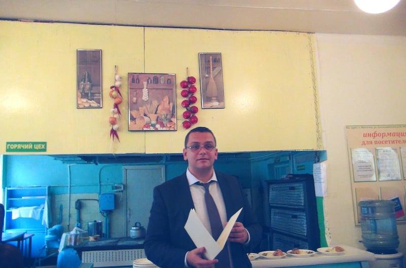 Глава администрации Максатихинского района В. В. Елиферов