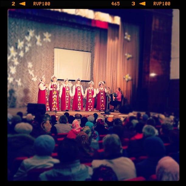 Концерт посвященный Дню пожилого человека 5 октября 2012 год