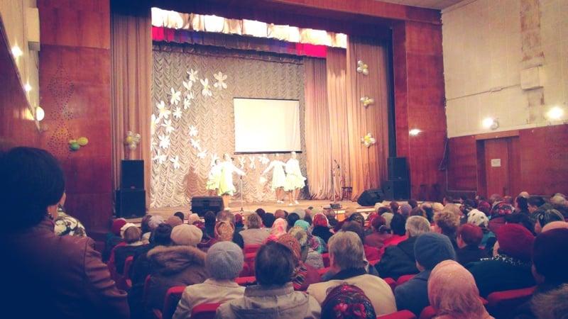 Концерт посвященный Дню пожилого человека