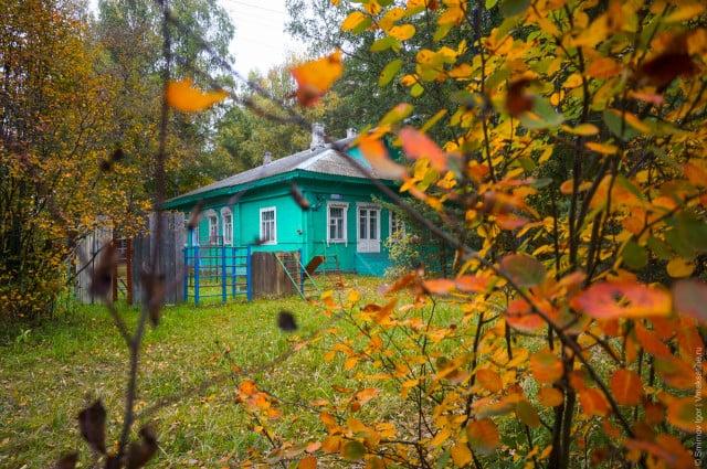 Здание Дома детства и юношества. Осень 2013 года