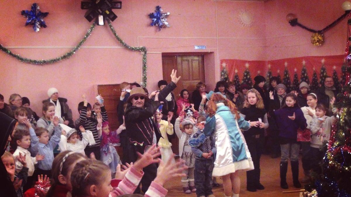 Новогодняя ёлка в районном Доме культуры