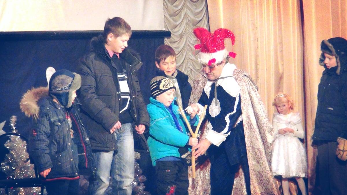 Новогодняя ёлка в районном Доме культуры пгт. Максатиха