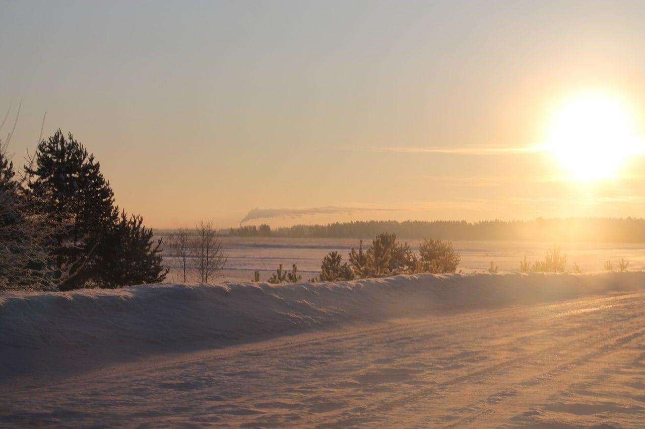 Фотография Алёны Шкоревой для фотоконкурса «Зима в Максатихе — 2013»