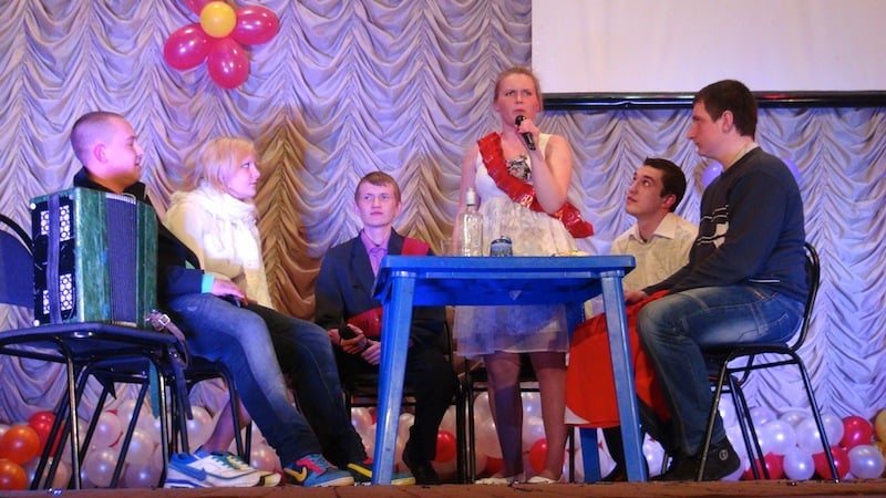 Выступление команды «Завтра на шашлыки» города Весьегонск