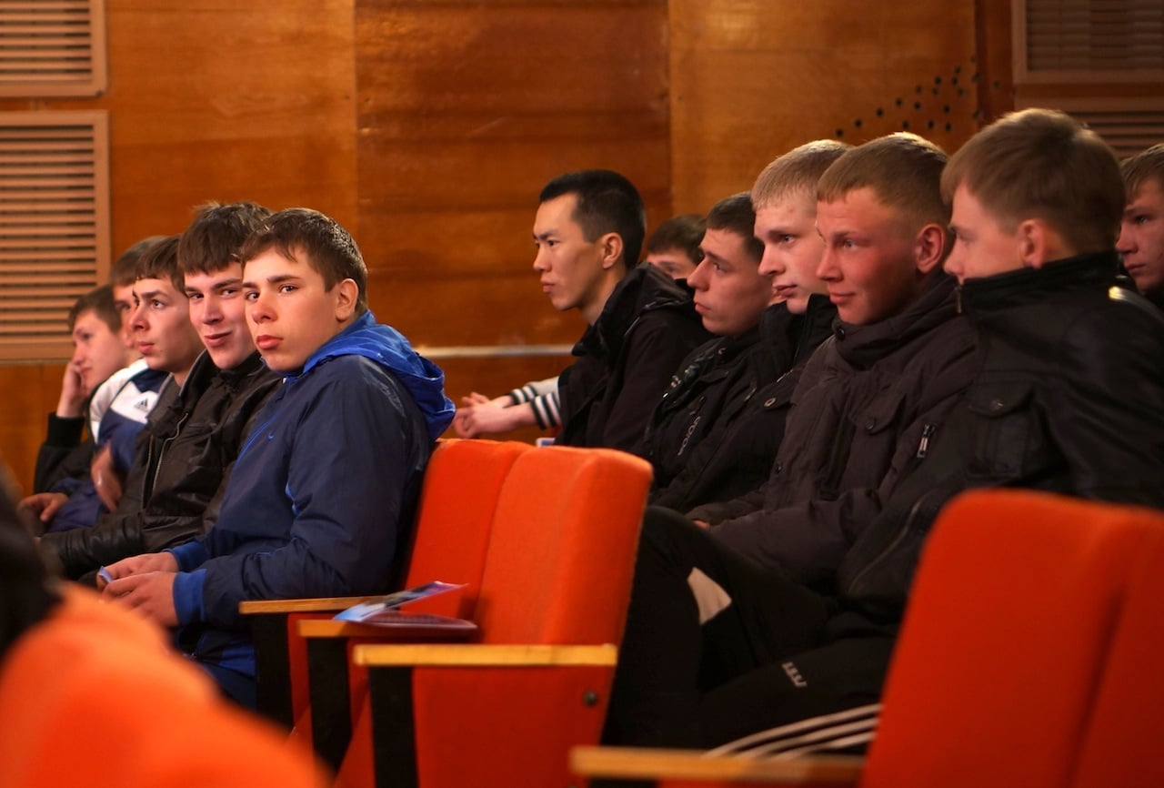 Будущие солдаты и защитники Родины.