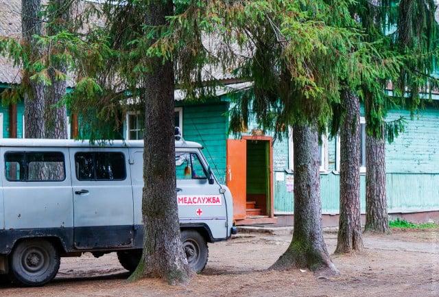 Здание детской консультации в пгт. Максатиха