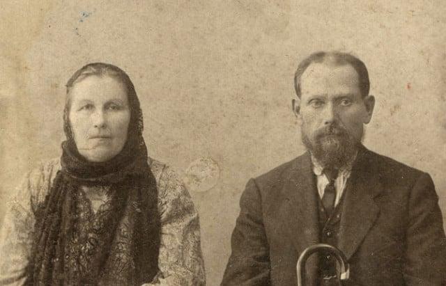 Алексей Николаевич Лисицын с женой