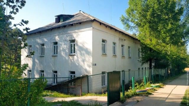 Здание детского сада № 1 п. Максатиха