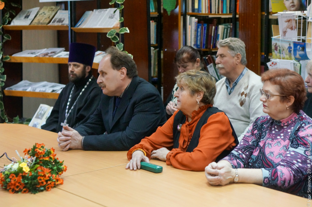 Презентация книги о Спасо-Преображенском храме села Загородье