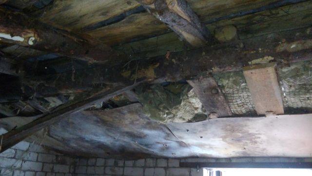 Крыше насосной станции требуется ремонт