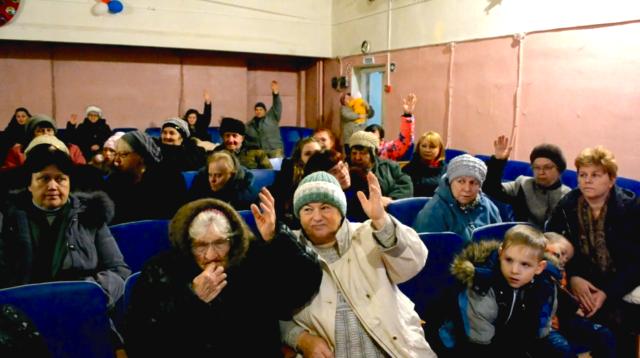 Собрание жителей по выбору проекта ППМИ