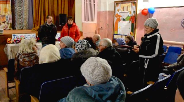 Жители посёлка труженик выбрали инициативную группу ППМИ