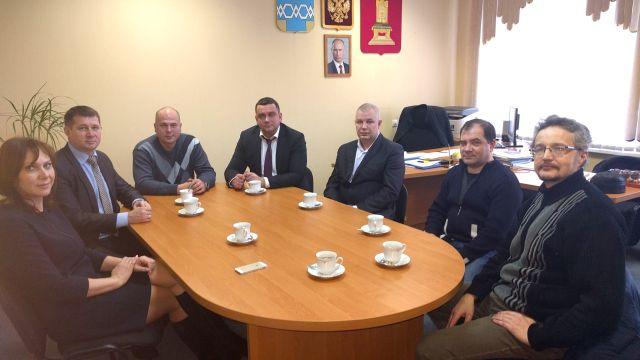 Встреча блоггеров с Николаем Ильиным и Вячеславом Елиферовым
