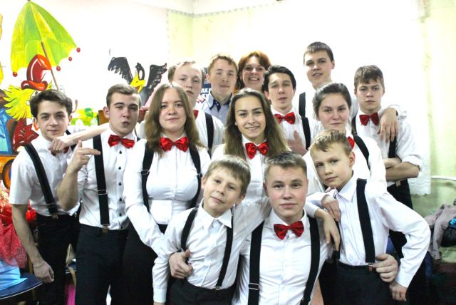 Максатихинская команда КВН Стиль Бабочки