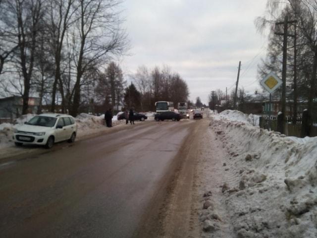 ДТП на улице Бедецкая посёлка Максатиха