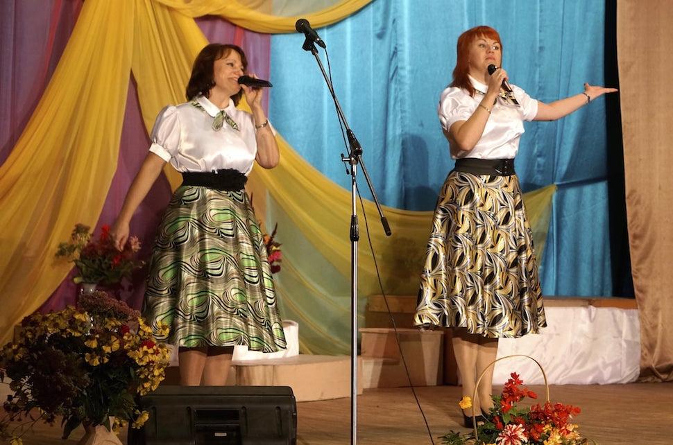 Концерт в честь Дня пожилых людей