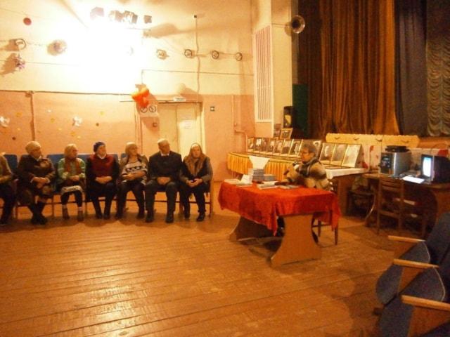 Встреча с поэтом из города Удомля Брюквиной Галиной Александровной