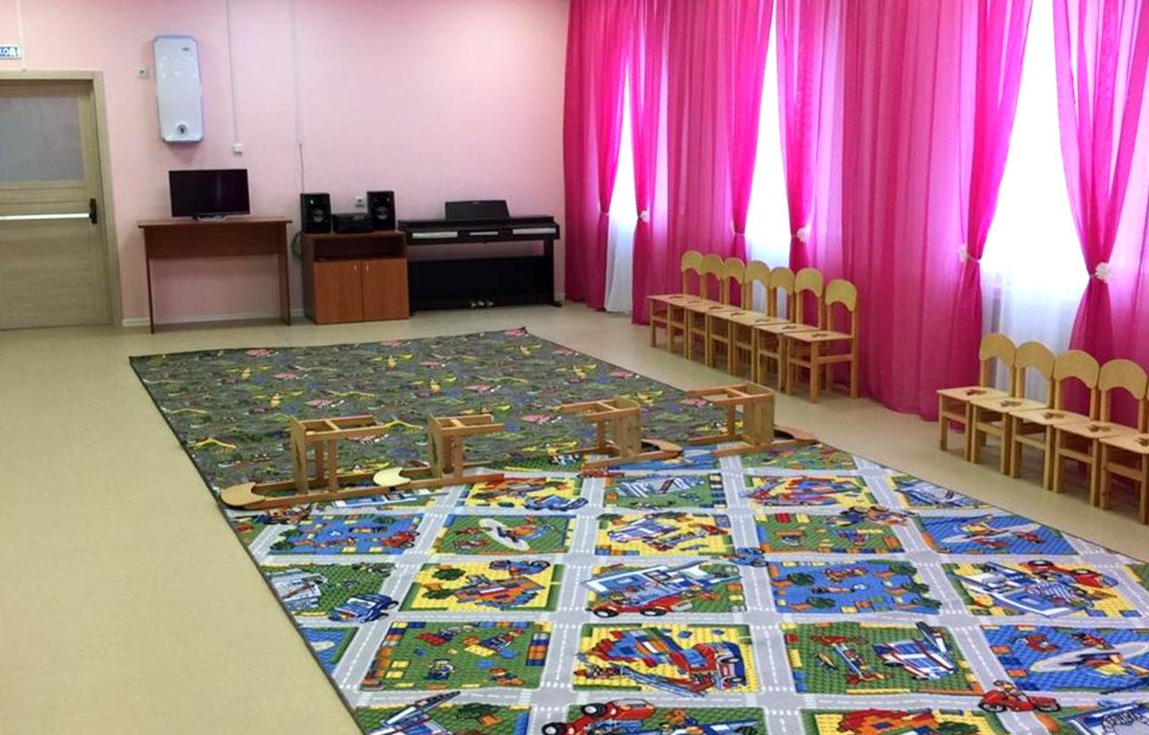 В Максатихинском районе Тверской области открылся новый детский сад